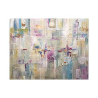 Impressão Em Tela Jardim da orquídea de Millie - pintura abstrata