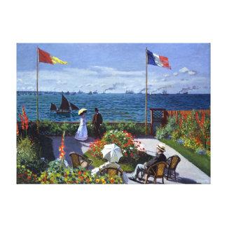 Impressão Em Tela Jardim de Claude Monet em Sainte-Adresse