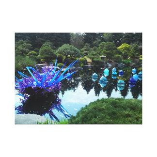 Impressão Em Tela Jardins botânicos