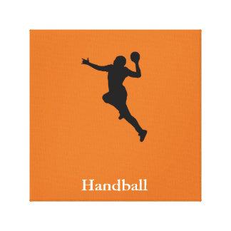 Impressão Em Tela Jogador do handball