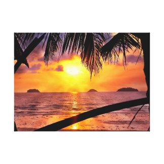 Impressão Em Tela Koh Chang do por do sol da ilha