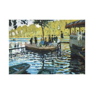 Impressão Em Tela La Grenouillère de Claude Monet