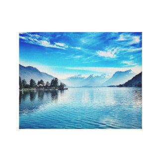 Impressão Em Tela Lago Annecy - Baie de Talloires