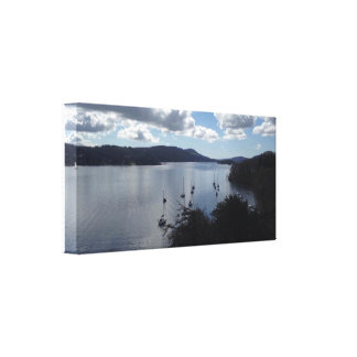 Impressão Em Tela Lago Windermere