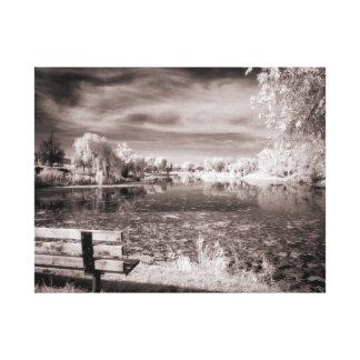 Impressão Em Tela Lagoa de Salem