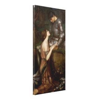 Impressão Em Tela Lamia e o soldado pelo Waterhouse de JW