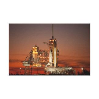 Impressão Em Tela Lançamento do vaivém espacial da NASA Atlantis