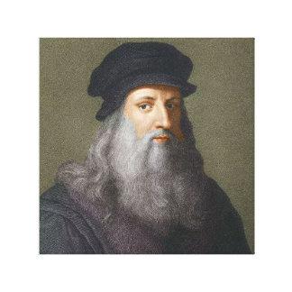 Impressão Em Tela Leonardo da Vinci