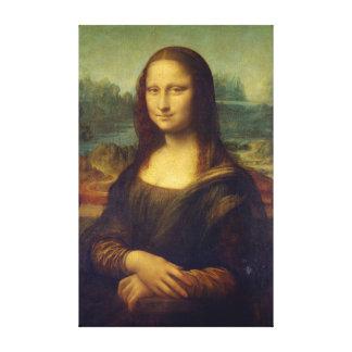 Impressão Em Tela Leonardo da Vinci icónico Mona Lisa