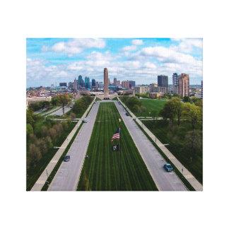 Impressão Em Tela Liberdade Kansas City memorável Missouri da