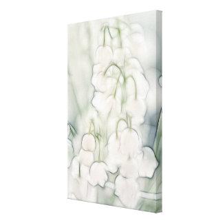 Impressão Em Tela Lírio do buquê da flor do vale