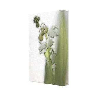 Impressão Em Tela Lírio do esboço da flor do vale