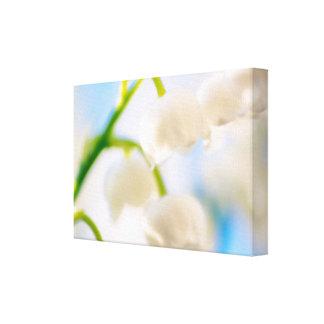 Impressão Em Tela Lírio do Fim-acima da flor do vale