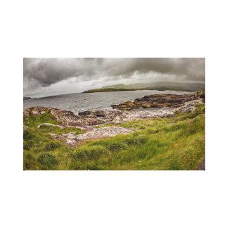 """Impressão Em Tela """"Litoral áspero, arte da parede de Ireland"""""""