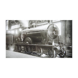 Impressão Em Tela Locomotiva de vapor (senhora de Avenal)
