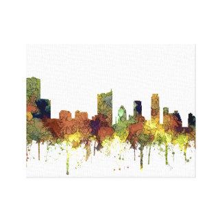 Impressão Em Tela Lustre do SG-Safari da skyline de Austin Texas