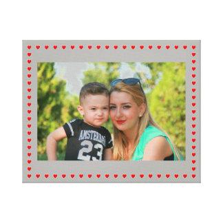 Impressão Em Tela Mãe e criança
