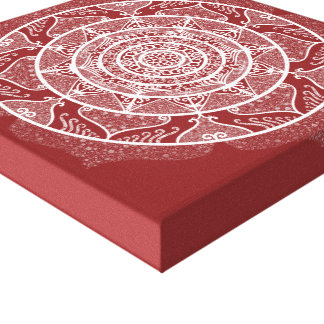 Impressão Em Tela Mandala do arando