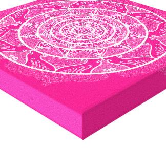 Impressão Em Tela Mandala do Foxglove