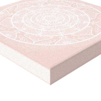 Impressão Em Tela Mandala do Mallow