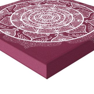 Impressão Em Tela Mandala do Mulberry