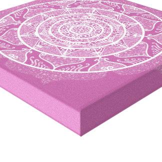 Impressão Em Tela Mandala do trevo