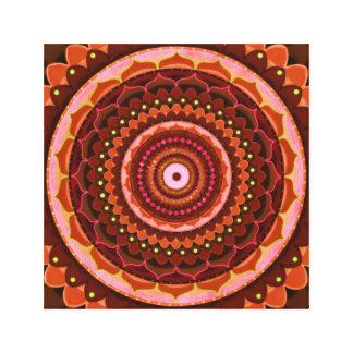 Impressão Em Tela Mandala místico
