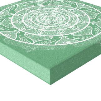 Impressão Em Tela Mandala prudente