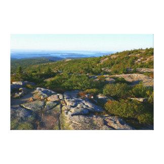 Impressão Em Tela Manhã sobre a montanha do cadillac no Acadia