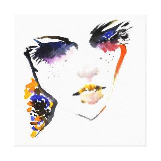 Impressão Em Tela Marcagem com ferro quente colorida da composição