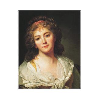 Impressão Em Tela Marie-Geneviève Bouliard, Auto-retrato