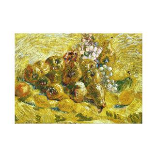 Impressão Em Tela Marmelos, limões, peras e uvas de Vincent van Gogh