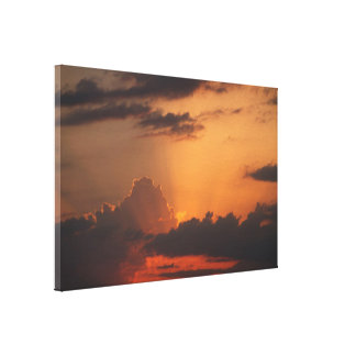 Impressão Em Tela Matiz do sävyt do por do sol/Auringonlaskun