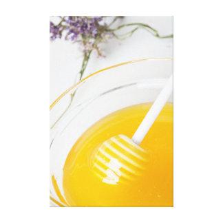 Impressão Em Tela mel fresco