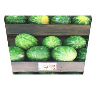 Impressão Em Tela Melancias para a venda, suporte de fruta, Nova