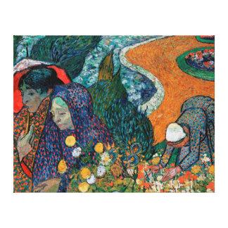 Impressão Em Tela Memória do jardim em Etten por Vincent van Gogh