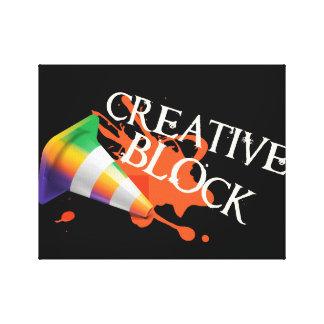 Impressão Em Tela Mente criativa liberada