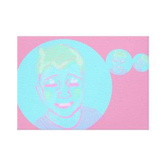 Impressão Em Tela MIM menino da bolha de C U