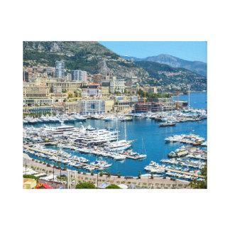 Impressão Em Tela Monaco Monte - fotografia de Carlo