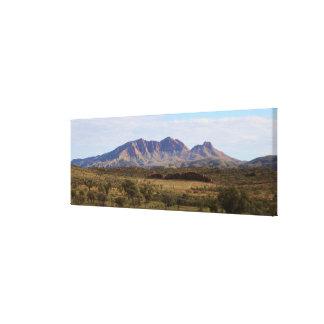 Impressão Em Tela Montagem Sonder, interior, Austrália central