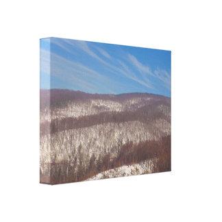 Impressão Em Tela Montanha