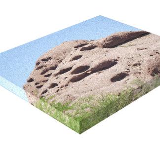 Impressão Em Tela Montanha da formação de rocha da arizona de