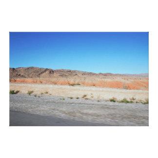 Impressão Em Tela Montanhas de Nevada