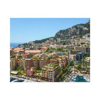 Impressão Em Tela Monte - Carlo Monaco