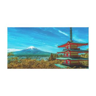 Impressão Em Tela Monte Fuji, Japão