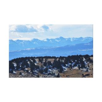 Impressão Em Tela Mountain View de Colorado