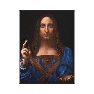 Impressão Em Tela mundi de Salvador por Leonardo da Vinci