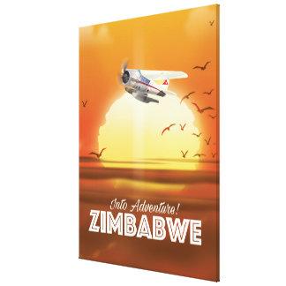 Impressão Em Tela Na aventura! Poster de viagens de Zimbabwe