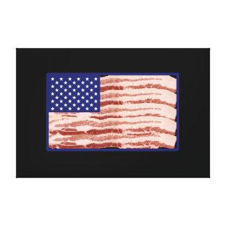 Impressão Em Tela Nação do bacon