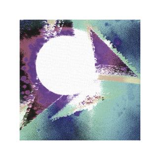 Impressão Em Tela Nascer do sol abstrato